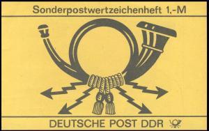 SMHD 29 Posthorn - 4.+2.DS: P mit Buckel, mit Punkt, DV-Stellung B, **