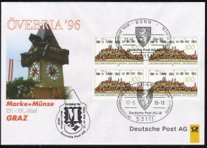 Ausstellungsbeleg Nr. 13 ÖVEBRIA Graz 1996