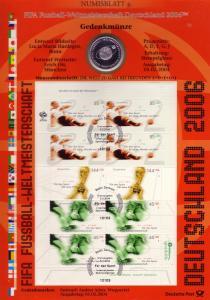 2382ff Fußball-WM: Münzbuchstabe J - Numisblatt 2004