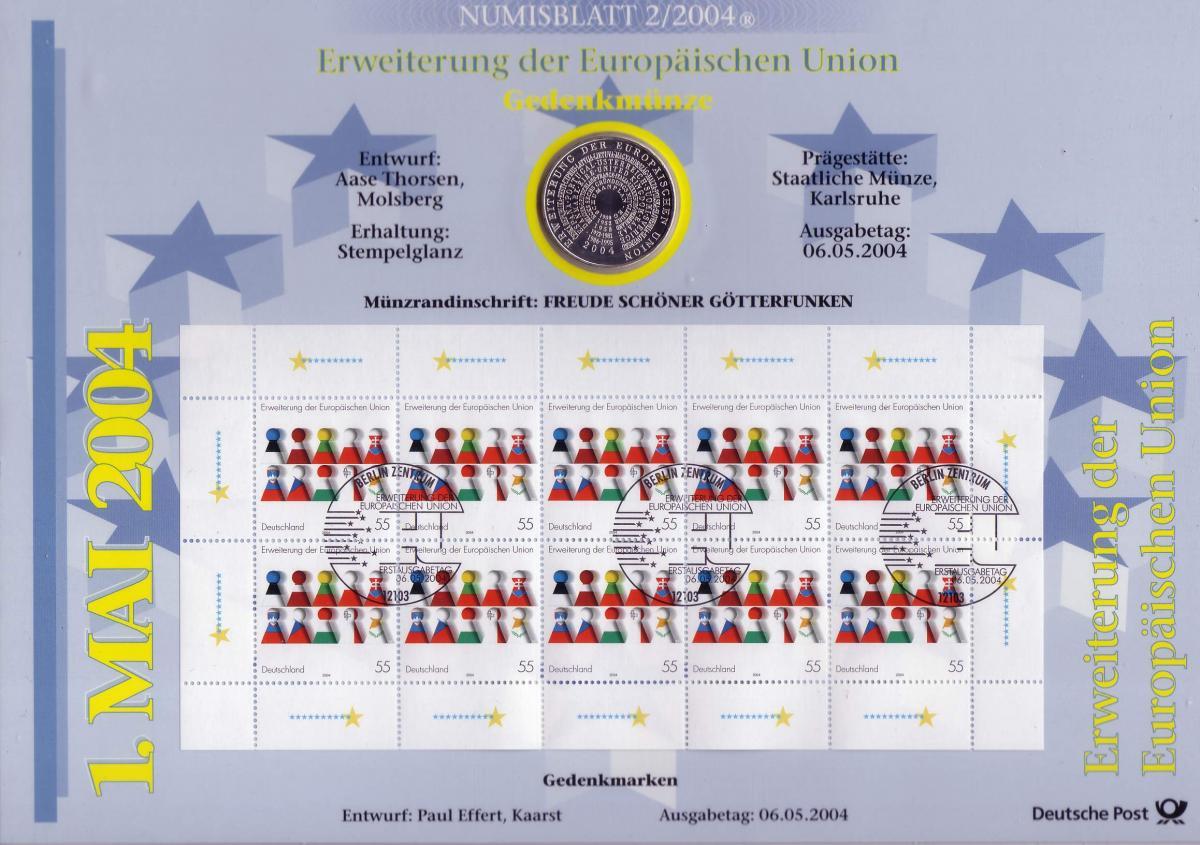 2400 Erweiterung Europäische Union - Numisblatt 2/2004 0
