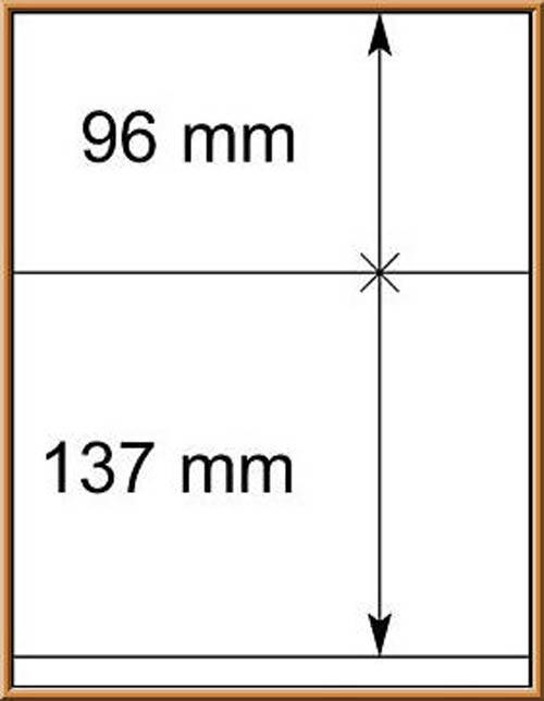 LINDNER-T-Blanko - Einzelblatt 802 209 1