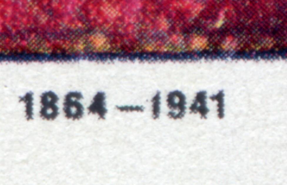 799 Expressionisten 40 Pf mit PLF defekte erste 1 in 1941, Feld 4, ** 0