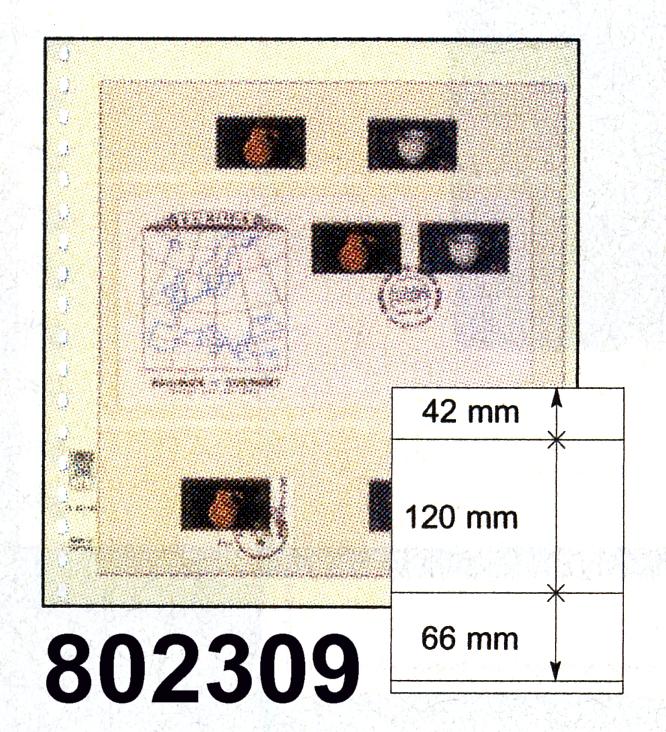 LINDNER-T-Blanko - Einzelblatt 802 309 0