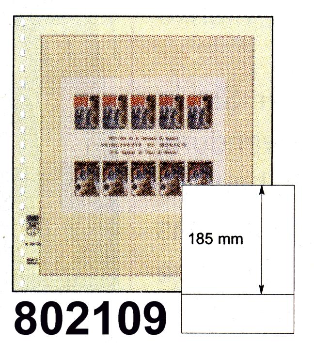 LINDNER-T-Blanko - Einzelblatt 802 109 0