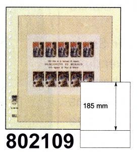 LINDNER-T-Blanko - Einzelblatt 802 109