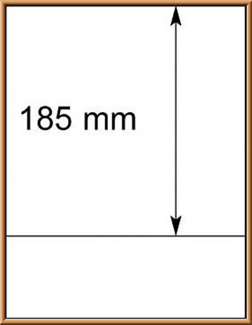 LINDNER-T-Blanko - Einzelblatt 802 109 1
