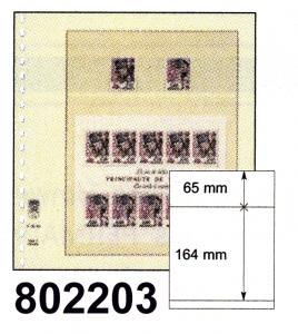 LINDNER-T-Blanko - Einzelblatt 802 203