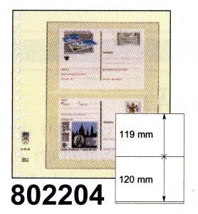 LINDNER-T-Blanko - Einzelblatt 802 204
