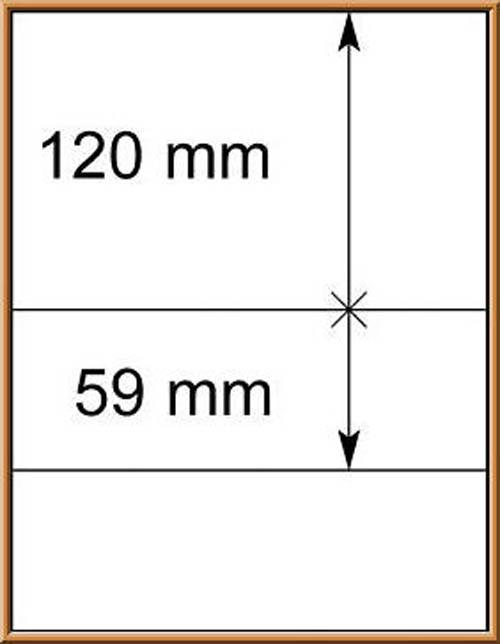 LINDNER-T-Blanko - Einzelblatt 802 206 1