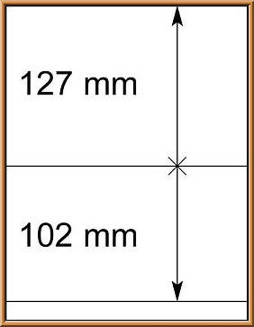 LINDNER-T-Blanko - Einzelblatt 802 210 1