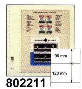 LINDNER-T-Blanko - Einzelblatt 802 211