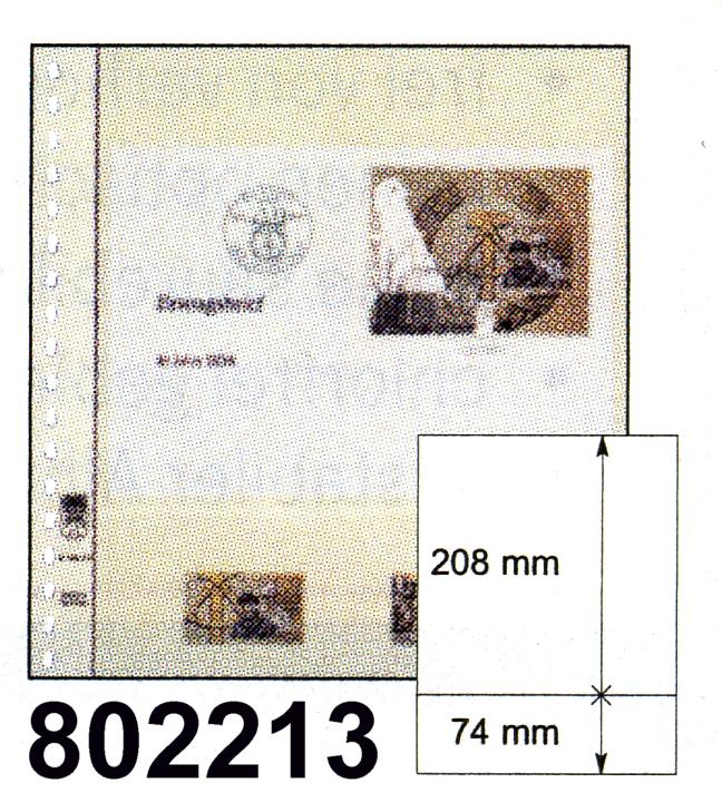 LINDNER-T-Blanko - Einzelblatt 802 213 0