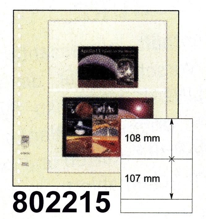 LINDNER-T-Blanko - Einzelblatt 802 215 0