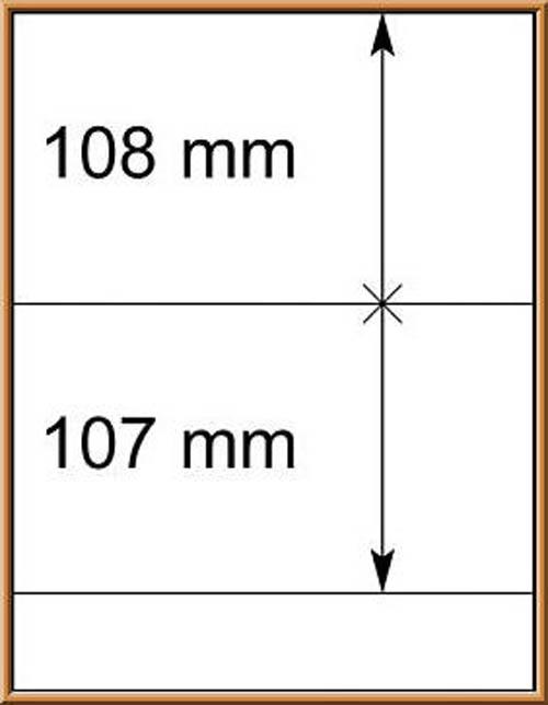 LINDNER-T-Blanko - Einzelblatt 802 215 1