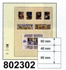 LINDNER-T-Blanko - Einzelblatt 802 302