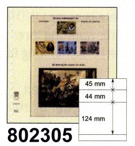 LINDNER-T-Blanko - Einzelblatt 802 305