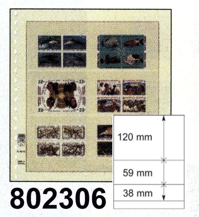 LINDNER-T-Blanko - Einzelblatt 802 306 0