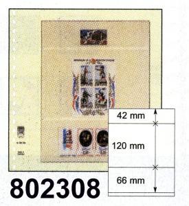 LINDNER-T-Blanko - Einzelblatt 802 308