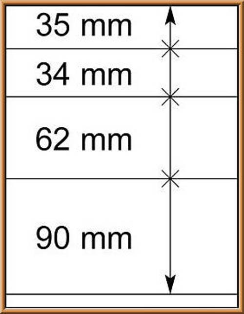 LINDNER-T-Blanko - Einzelblatt 802 414 1
