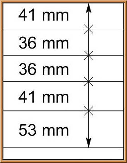 LINDNER-T-Blanko - Einzelblatt 802 502 1