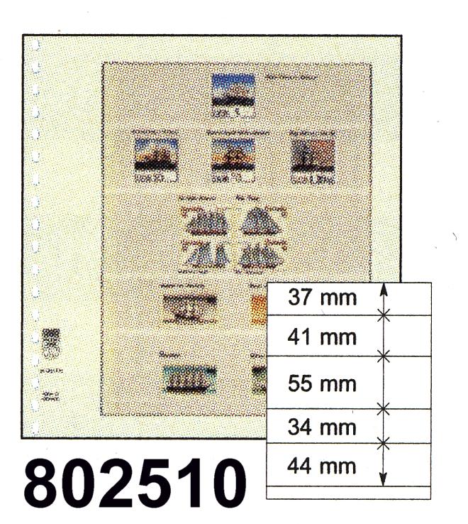 LINDNER-T-Blanko - Einzelblatt 802 510 0