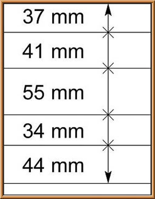 LINDNER-T-Blanko - Einzelblatt 802 510 1