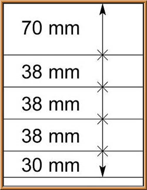 LINDNER-T-Blanko - Einzelblatt 802 514 1