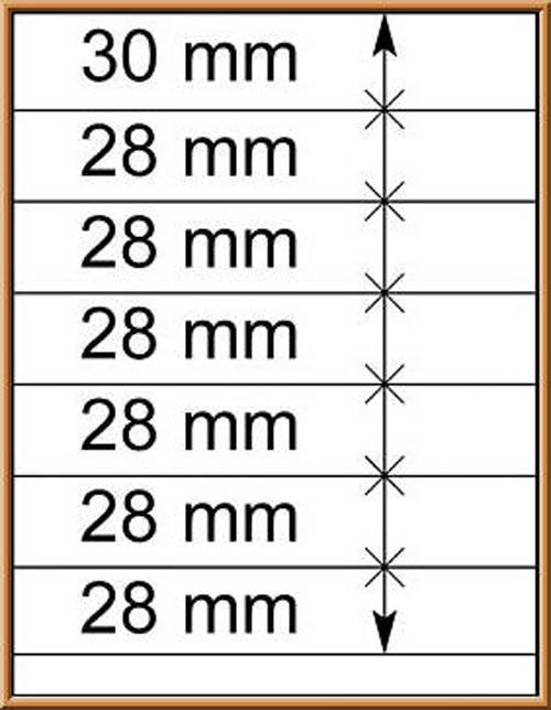 LINDNER-T-Blanko - Einzelblatt 802 700 1