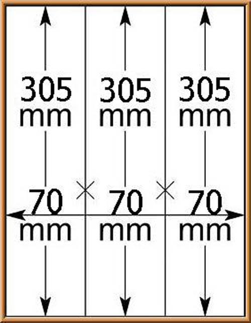 LINDNER-T-Blanko - Einzelblatt 802 122 für Rollenmarken 1