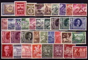 Jahrgang 1943 (36 Marken) komplett postfrisch / MNH / **