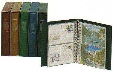 LINDNER Kassette für ETB-/Postkarten-Album 1103 Blau 0