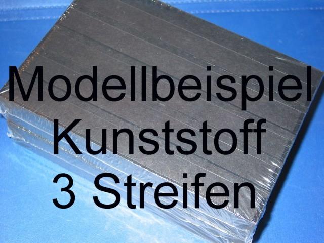 KOBRA Einsteckkarte C5, Kunststoff, K13 - 3 Streifen, 50 Stück 0