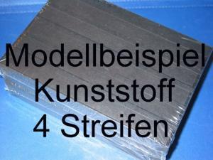 KOBRA-Einsteckkarte C5, Kunststoff, K14 - 4 Streifen, 50 Stück