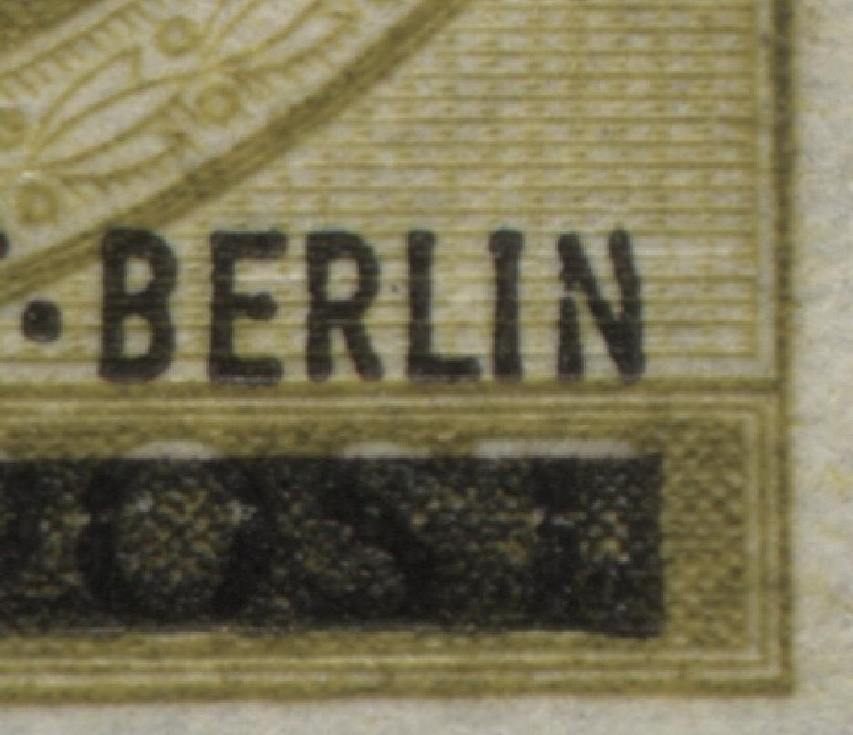 155I Hochwasser mit PLF I verbogenes N in BERLIN, ** 0
