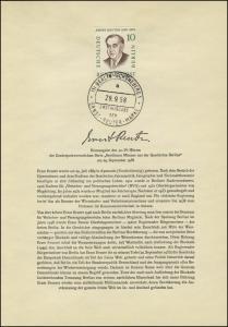 Berlin-ETB Nummer 40 Ernst Reuter, ESSt Buchstabe: a