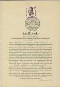 Berlin-ETB Nummer 27 Max Reinhardt, ESSt Buchstabe a