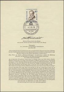 Berlin-ETB Nummer 43 A.v.Humboldt, ESSt Buchstabe a