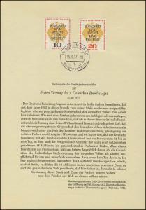 Berlin-ETB Nummer 29 Deutscher Bundestag, Buchstabe b