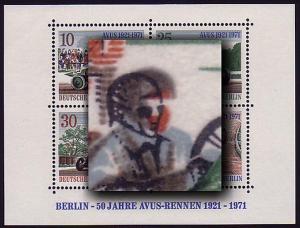Block 3 AVUS-Rennen 1971, Passerverschiebung braun **