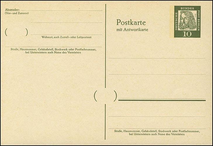 P 54 - Dürer 10/10 Pf Antiqua, ** 0
