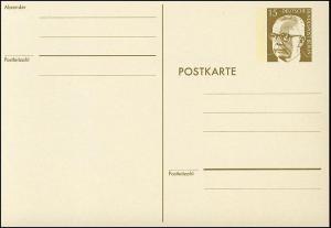 P 90a - Heinemann 15 Pf, Karton rahmfarben **