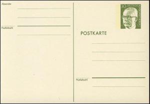 P 91a - Heinemann 30 Pf, Karton rahmfarben **
