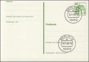 P 116 - BuS 50 Pf mit Punktlinien VS-O Berlin