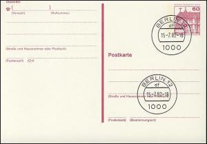 P 122 I - BuS 60 Pf Buchdruck VS-O Berlin
