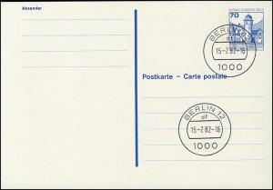 P 123 I - BuS 70 Pf Buchdruck VS-O Berlin