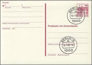 P 125 I - BuS 60/60 Pf Buchdruck VS-O Berlin