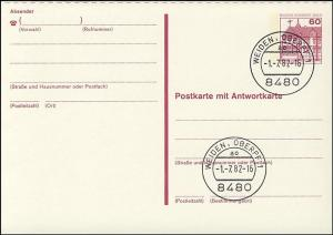 P 125 I - BuS 60/60 Pf Buchdruck VS-O Weiden