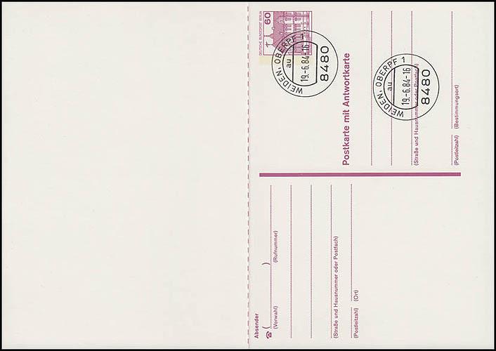 P 125 II - BuS 60/60 Pf Letterset VS-O Weiden 0