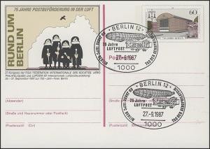 P 127 - LUPOSTA 1987 SSt Berlin IAPC 27.9.87