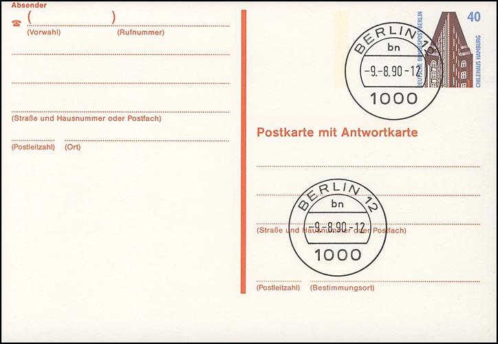 P 137 - SWK 40/40 Pf Balken versetzt VS-O Berlin 0